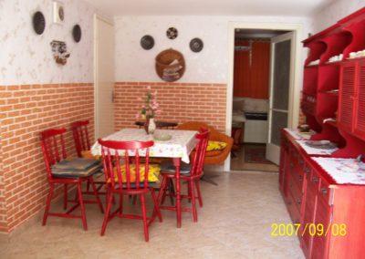 Sikondai apartman - Étkező