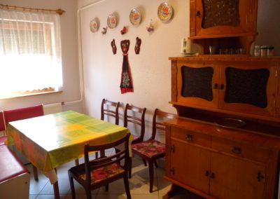 Balatoni apartman - Étkező