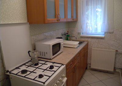 Balatoni apartman - Felújított konyha