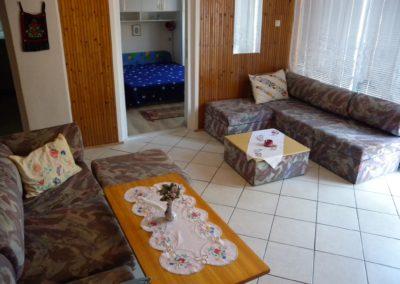 Balatoni apartman - Nappali